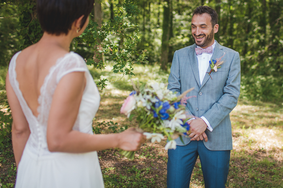 domaine de la bergerie_Camille_Marciano_ PHotographe _ mariage_ champetre_france_firstlook_15